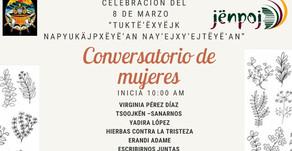Conversatorio de mujeres territorio mixe el #8M