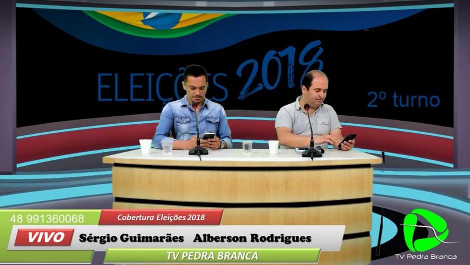 Cobertura TV Pedra Branca das eleições 2018