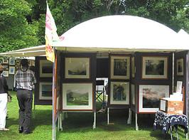 My booth at an art fair