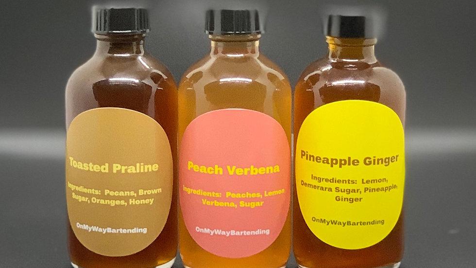 Phase 3: 3-Custom Mix & Sip Syrups