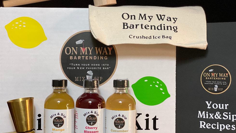 Phase 4: Mix&Sip Mixology Kit w/Choice of 2 Syrups