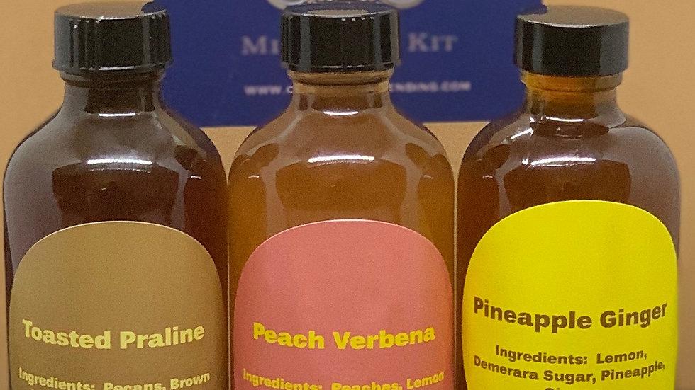 Phase 3: Mix&Sip Mixology Kit w/Choice of 2 Syrups