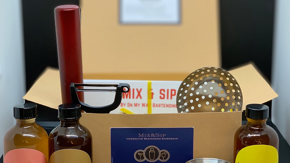 Phase 3: Mix&Sip Mixology Kit w/3 Syrups