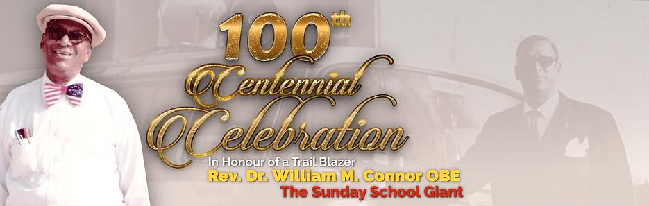 Banner - Rev. Dr. William M. Connor OBE.