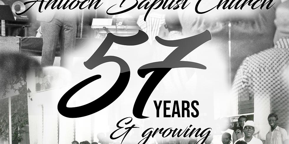 57th YEARS ANNIVERSARY