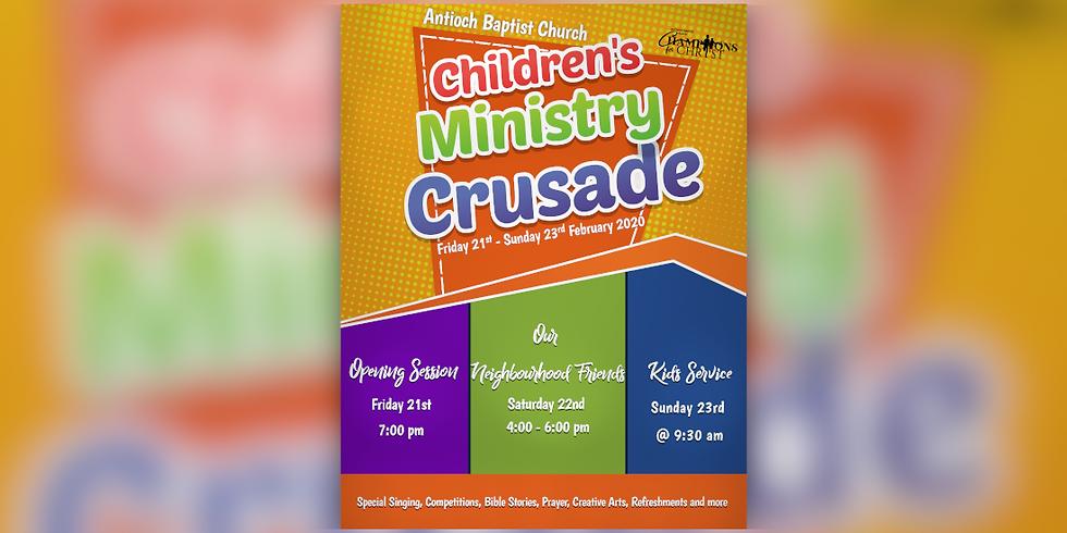 Children's Ministry Crusade
