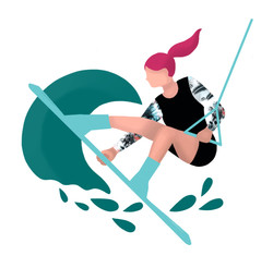 Wakeboard icon for Island Feather
