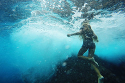 Zee van Gils underthezee ocean artist resin art Cornwall surf art