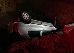 Homem morre em capotamento  na perimetral leste de Não-Me-Toque