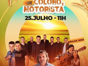Sementes Roos promove super live raiz do Dia do Colono e Motorista no domingo