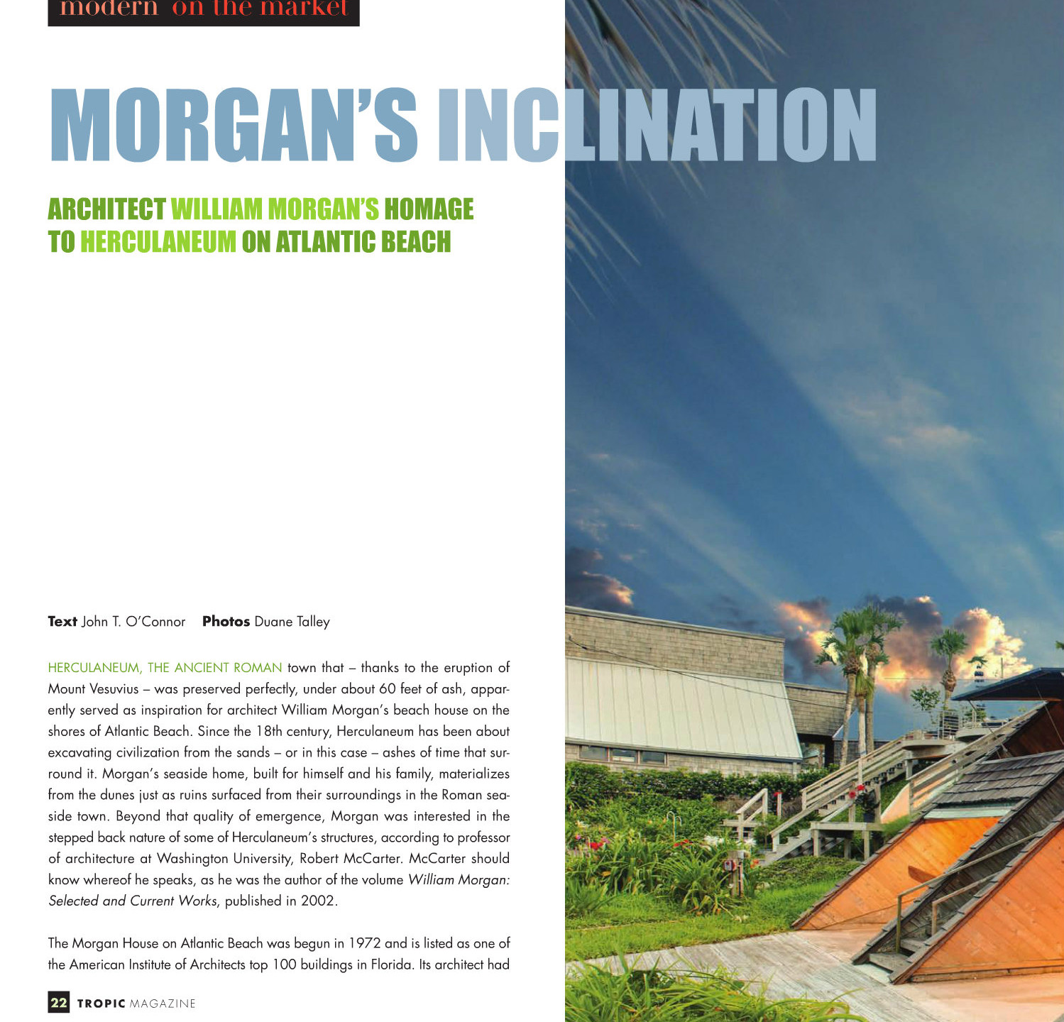 Tropic Magazine Morgan House 2