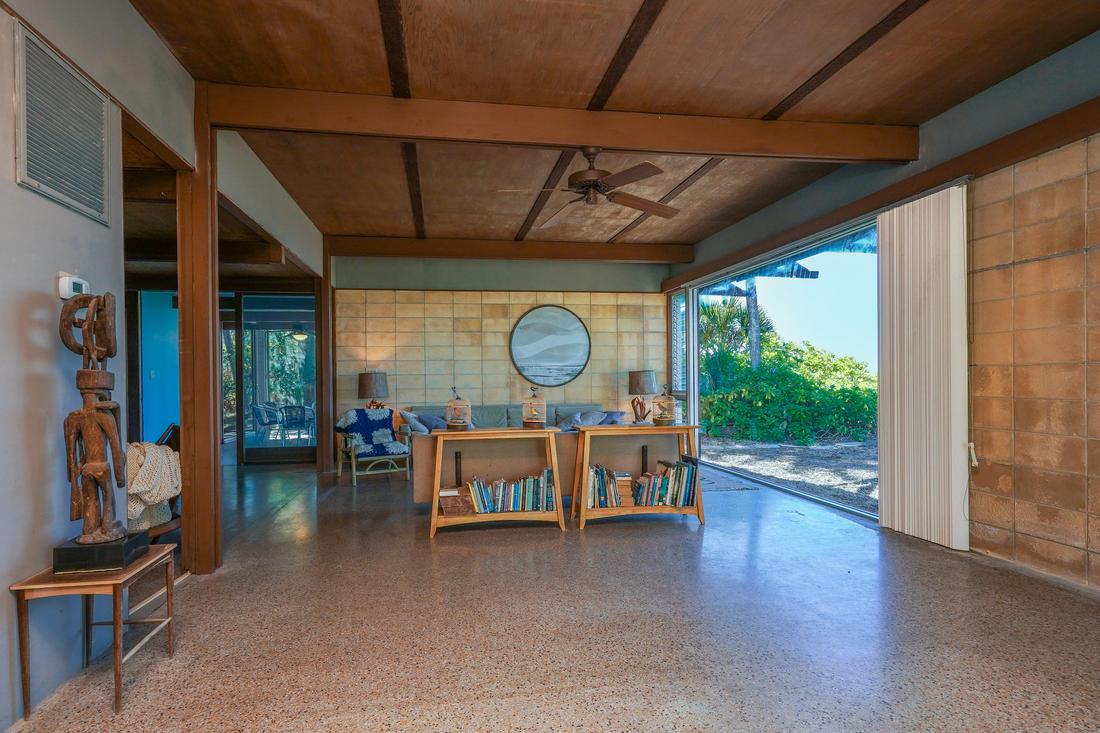 Interior Living Room Dance Floor