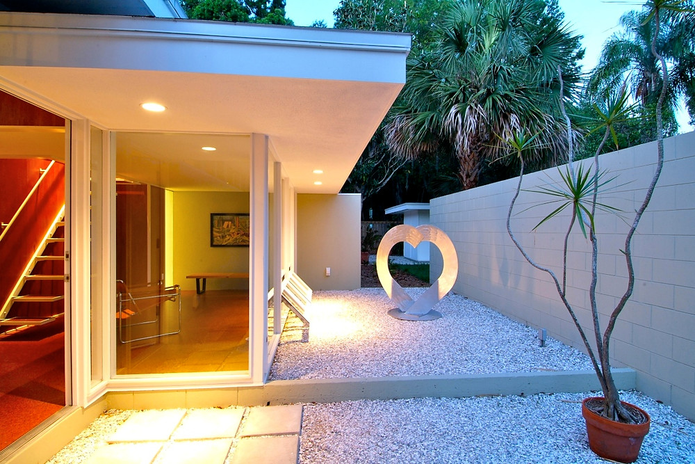 William Rupp 1962 renovation by Seibert Architects www.modernsarasota.com