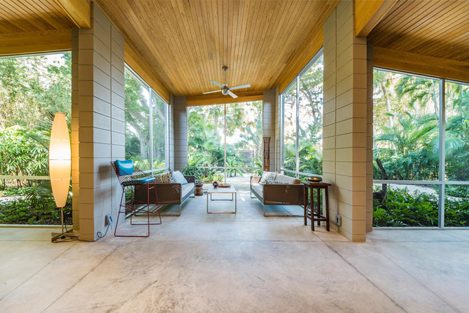 OPEN HOUSE | Mar 31, 1-4pm at Serene Mid-Century Renovation, Venice Florida