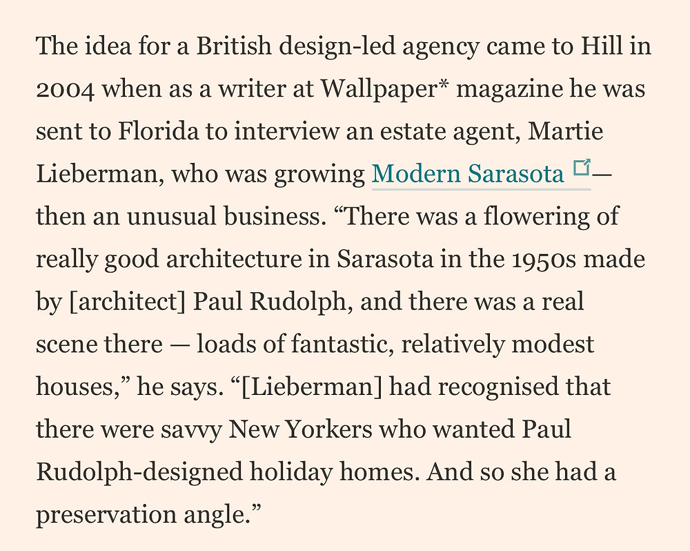 Financial Times Modern Home Martie Lieberman