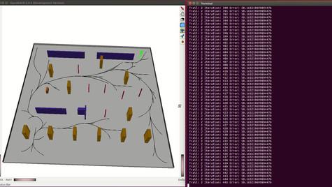 Hovercraft RRT path planning