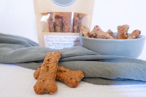 Blueberry, Peanut Butter & Banana Cookies (VEGAN) - Wholesale