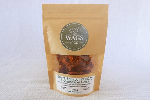 Sweet Potato, Parsley & Cinnamon Gems (VEGAN) - Wholesale