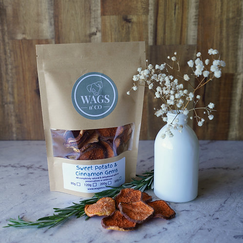 Sweet Potato, Parsley & Cinnamon Gems