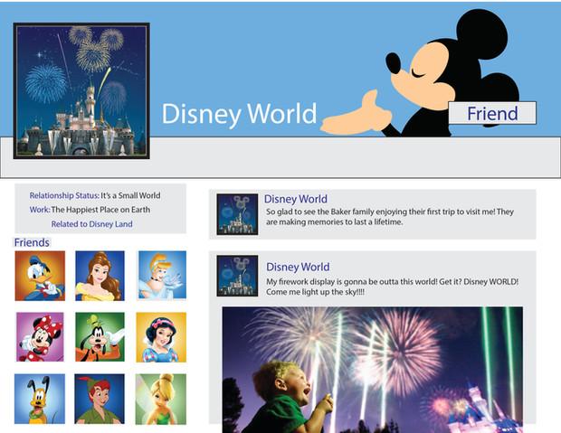 Social Media Psyche: Disney World