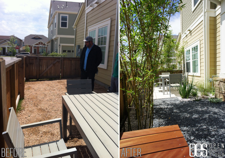 OES | Bellaire residence before and after