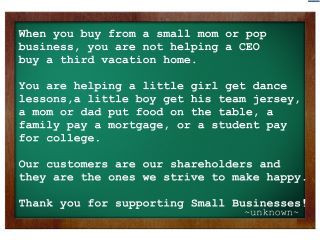 OES | Small Business Quote