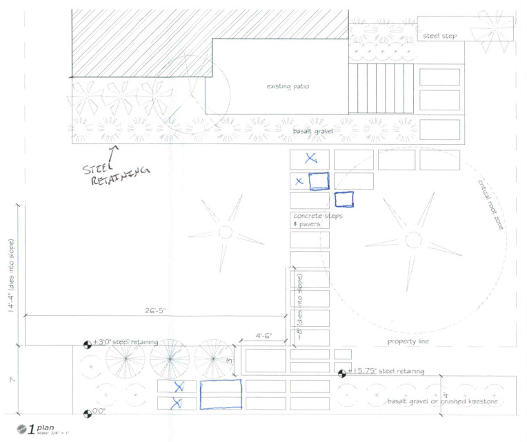OES | Bodle Master Plan via client contractor; not made by OES