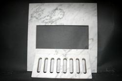 Carrara Marble Heating Grate
