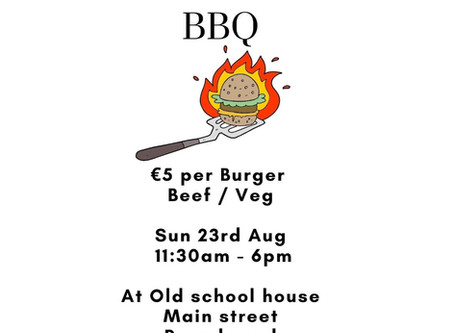 Grab a BBQ this Sunday 23rd August
