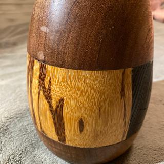 """""""Figured Wood Vase"""""""