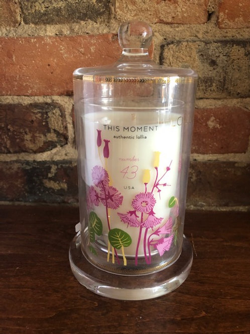 Lollia This Moment Candle with Cloche