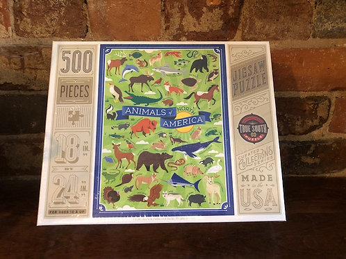 500 piece Animal Lovers puzzle/3 styles