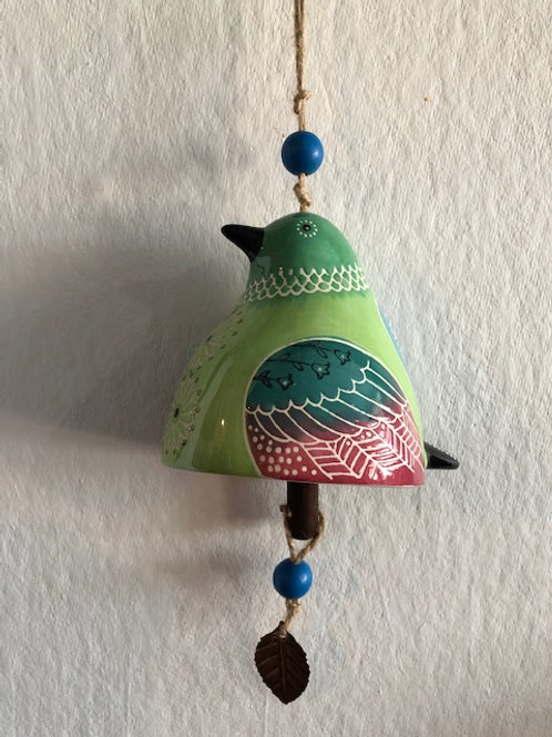Handcrafted Ceramic Bell/4 varieties