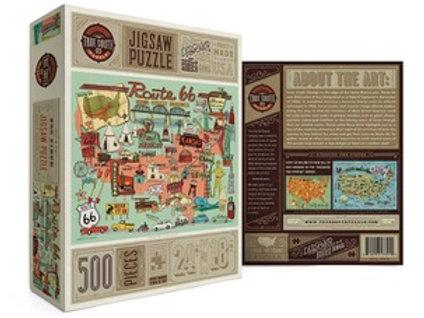 Route 66 500 piece puzzle