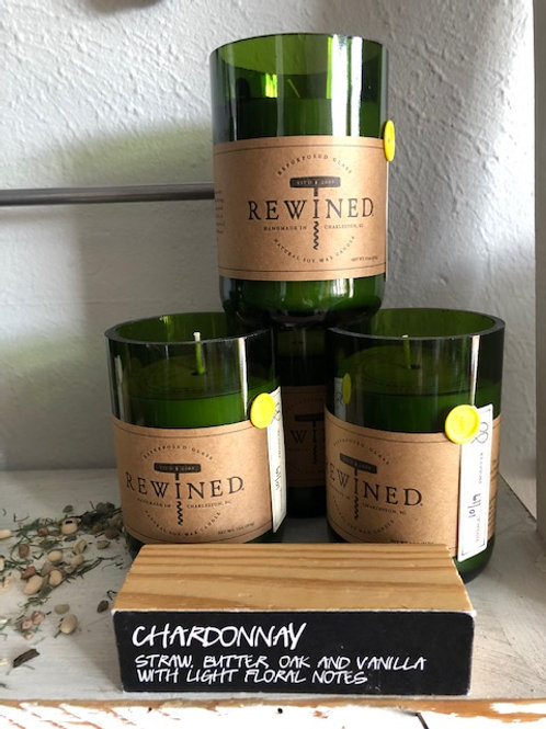 Rewined Wine Scented Candles