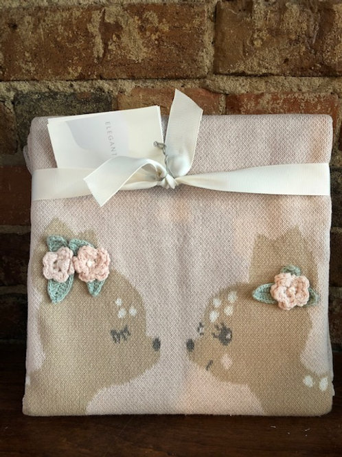 Fawn Cotton Blanket