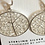 """Thumbnail: Nature inspired """"lace"""" earrings"""
