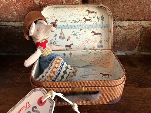 Cowboy Mouse in a Box