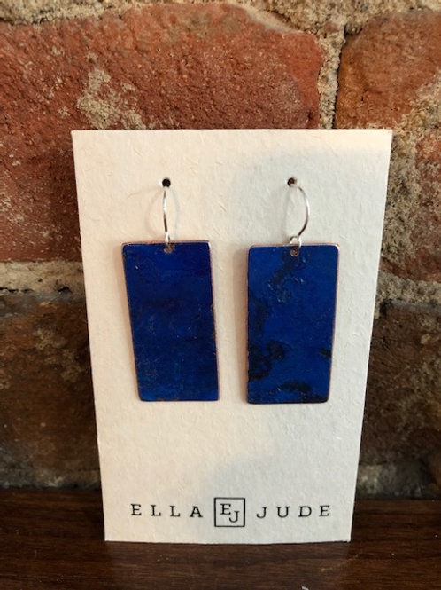 Handmade rectangle Earrings