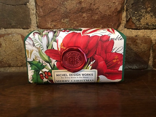 Michel Holiday soap/2 scents