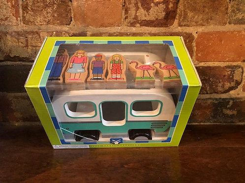 Magnetic Camper/Bus/Van with Magnetic figures