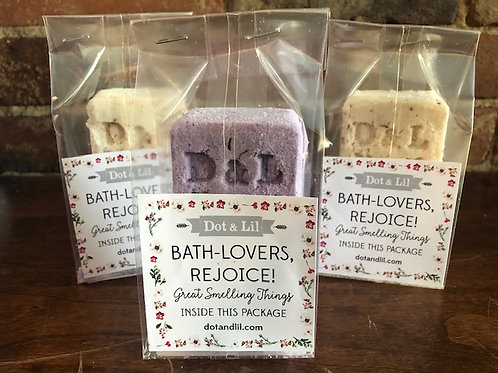 Dot and Lil natural Bath Cubes/2 scents