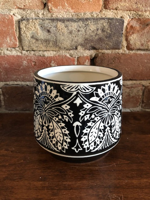 Stoneware Garden Pot