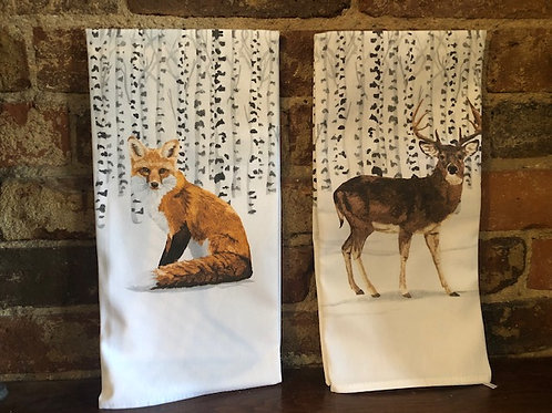 Kitchen Towel/Two Can Art designs-2 designs