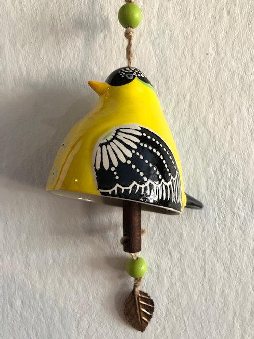Handcrafted Ceramic Bell/4 varieties