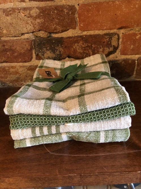 Tag Cotton Towels/4 pk
