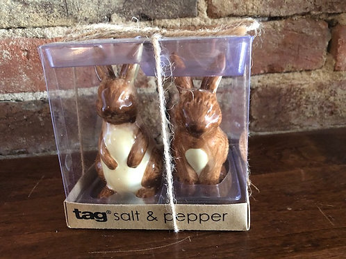 Bunny Salt and Pepper Shakers by TAG