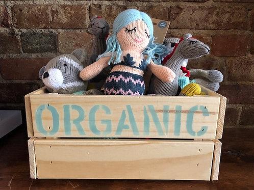 Organic Knit Rattle