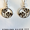 Thumbnail: Flower Earrings/Sterling & Vermiel