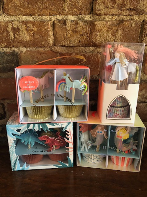 Meri Meri Themed Cupcake Kits